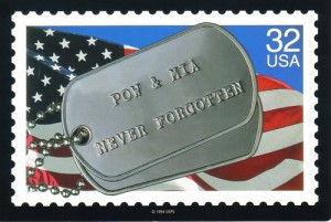 pow mia stamp never forgotten