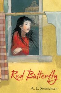Front Cover - Red Butterfly