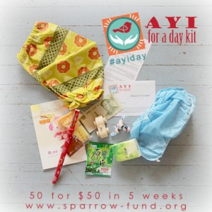 ayi for a day kit 3